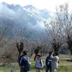 Bird walk in Botanical Garden, Srinagar