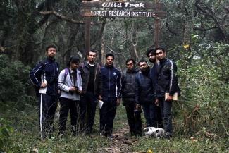 IGNFA and FRI Students Participated in Bird Walk